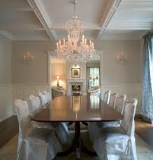 dining room paneling raised panel walls staircase traditional with baluster bcb homes