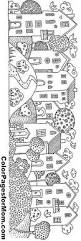 napping house coloring pages download landscapes coloring pages drawing ideas for kids