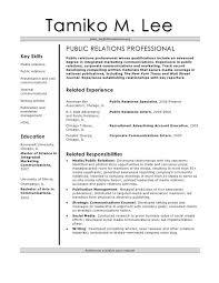 pr resume template pr resume samples pr manager free resume