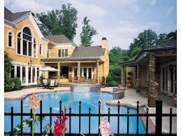 2 house with pool house plans with swimming pools home plans with pools at eplans com