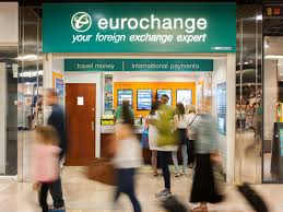 bureau de change a pound value flash crash takes sterling below one at