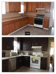 Rustoleum Kitchen Makeover - how to paint cabinets using rustoleum cabinet transformations