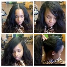 sew in with lace closure 3 way part sew in sewin