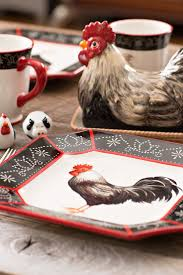 Rooster Kitchen Canisters 405 Best Rooster Decor U0026 Accessories Images On Pinterest Rooster