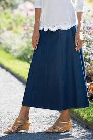 denim skirts a line denim skirt chadwicks of boston