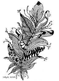 feather coloring page and peacock feather coloring page feather
