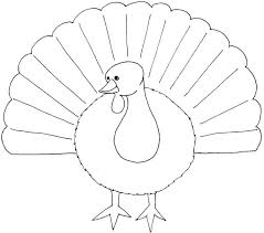 turkey color page coloring pages drawing pdf thanksgiving