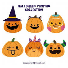 halloween clipart creation kit pumpkin pumpkin vectors photos and psd files free download