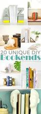 Unique Bookends 20 Unique Diy Bookends Frugal Mom Eh