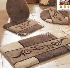 Microfiber Bathroom Rugs 5 Pieces Microfiber Bath Rug Set Buy Find Complete Details About