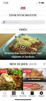 recette de cuisine en cuisine recette de cuisine on the app store
