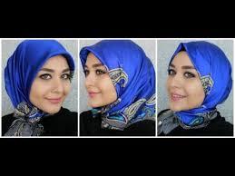 download video tutorial hijab turban 3 turkish inspired hijab styles square silk scarf from armine
