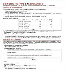 sample gradebook template 7 free documents in pdf word excel psd