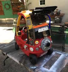 kid car dad turns kids u0027 toy cars into badass u201cmad max u201d vehicles bored panda