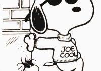 snoopy coloring pages free coloring pages