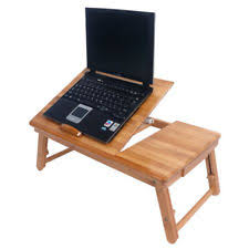 portable lap desk with storage adjustable laptop desk table bamboo with storage drawer portable bed
