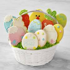 cookie basket delivery easter cookie basket set of 12 williams sonoma