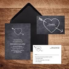 Chalkboard Wedding Program Template Wedding Rsvp Cards Wedding Invitation Stationery Rsvp Cards