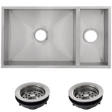 Ticor Kitchen Sinks Ticor 32 Inch 16 Stainless Steel Bowl Undermount