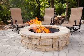 Outdoor Firepit Kit Rosetta Outdoor Pit Kit Pits Cullmandc