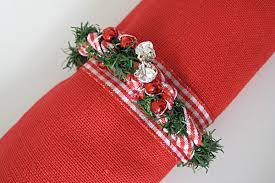 christmas napkin rings table linens christmas napkin rings 1 fantastic viewpoint