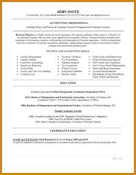 entry level accounting resume letter format template