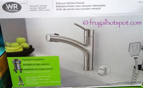 water ridge kitchen faucet manual costco sale water ridge style pull out kitchen faucet 48 99
