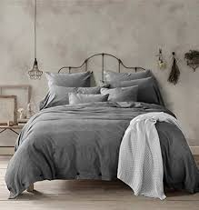 Cotton Queen Duvet Cover Amazon Com Doffapd Duvet Cover Queen Washed Cotton Duvet Cover