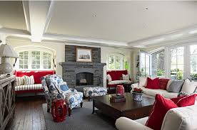 Decorating With Red White And Blue Living Rooms Decorating - Red and blue living room decor