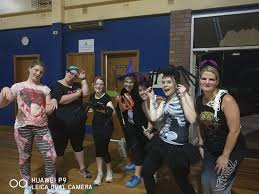 zumba halloween background casey etheridge