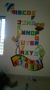 wall theme educational theme wall painting for school in new sangvi pune