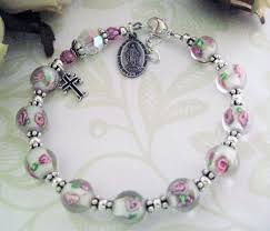 rosary bead bracelet best 25 rosary bracelet ideas on diy bracelet rosary