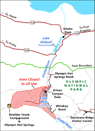 Olympic National Park Map Transportation From Seattle To Olympic National Park Trailspace Com