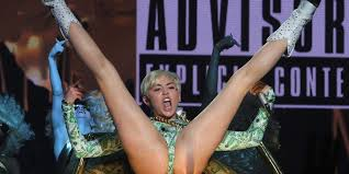 sexy nude miley cyrus is miley cyrus u0027s bangerz tour really that nsfw huffpost