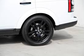 land rover lr4 white black rims 2014 land rover lr4 hse black design package stock 5988