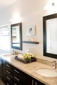 Espresso Double Vanity Espresso Double Vanity With Granite Countertop Contemporary