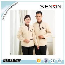list manufacturers of hotel restaurant service staff uniform buy