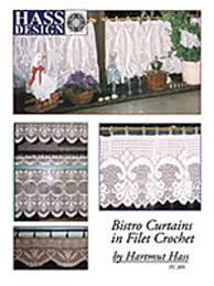 Crochet Curtain Designs Ravelry Hass Design Bistro Curtains In Filet Crochet Patterns