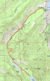 Rubicon Trail Map Carrying A Good Thing Too Far Licensed For Non Commercial Use