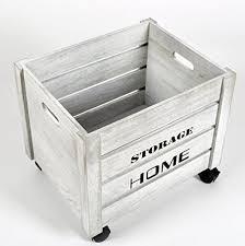 caisse de bureau ts ideen caisse de rangement avec coussin fleuri vintage shabby