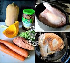 cuisine cocotte en fonte ingredients cuisse de dinde legumes automne cocotte fonte recette