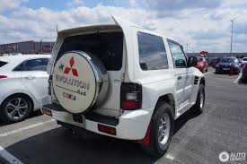 mitsubishi pajero mitsubishi pajero evolution 18 may 2017 autogespot