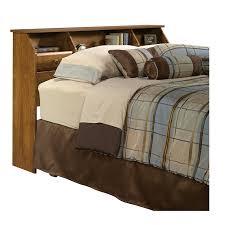 Sauder Orchard Hills Bookcase Headboard by Amazon Com Sauder Shoal Creek Oiled Oak Headboard Full Queen