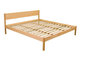 Wood Platform Bed Frames Alto Chemical Free Wood Platform Bed Frame Maple The