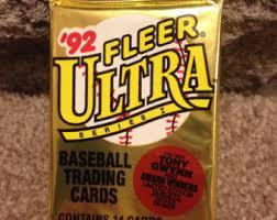 fleer baseball etsy