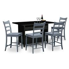 dining tables 6 person round dining table value city furniture
