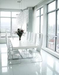 white dining room sets modern white dining table krepim club