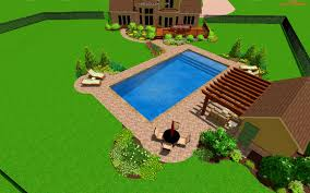 Free Backyard Design Software by Interior Pleasant Zen Associates Residential Pool Landscape