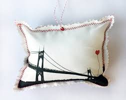 model kit of st johns bridge in portland oregon architectural