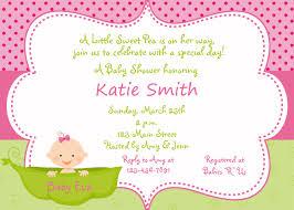 baby shower invitations for girls templates thebridgesummit co